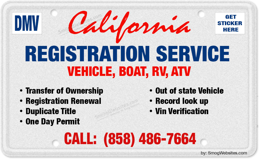 Vehicle Registration - All Services in One location | Poway